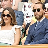 Pippa Middleton Anna Mason Dress at Wimbledon