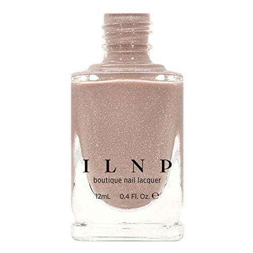 ILNP Chleo in Neutral Blush Pink Holographic Sheer Jelly Nail Polish