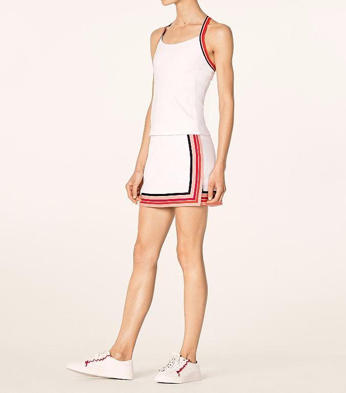 Performance Tennis Tank and Prism Stripe Skirt