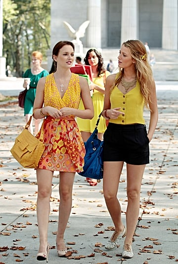 Blair and Serena's Coordinated Outfits on Gossip Girl