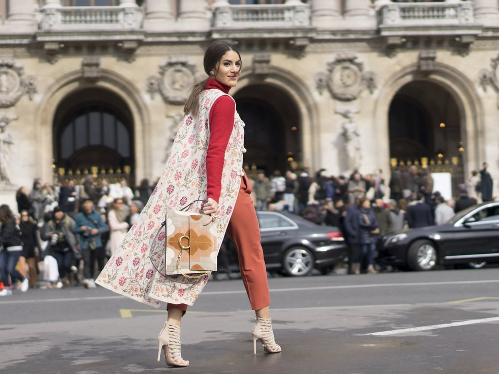 A Floral Vest and Must-Have Bag