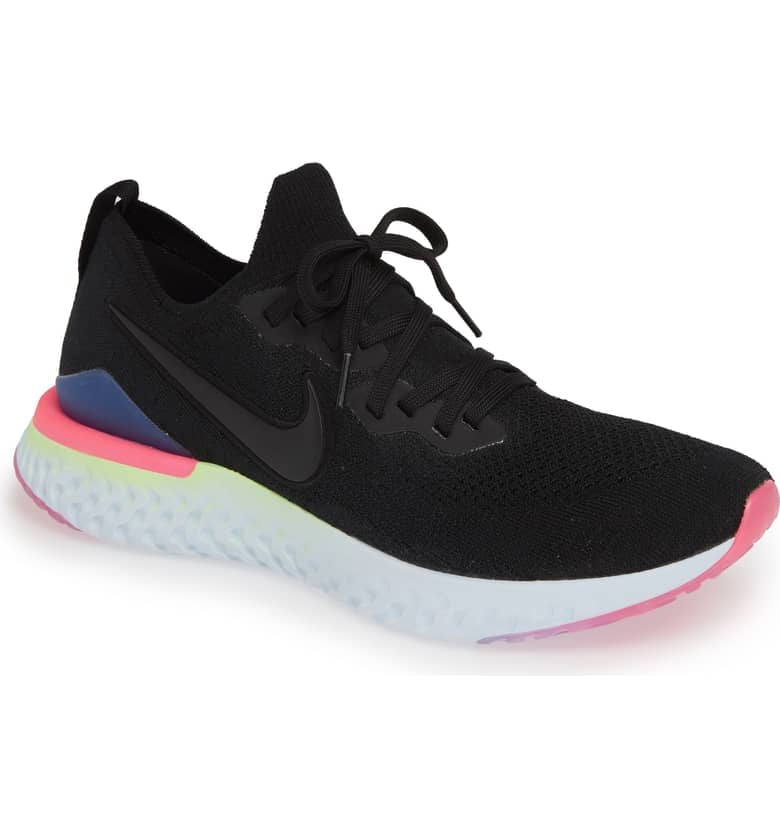 c32b7954803 Nike Epic React Flyknit 2 Running Shoes | Best Black Sneakers For ...