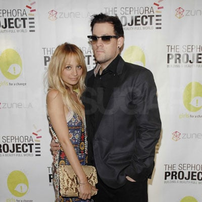 Nicole Richie and Joel Madden Out in LA 2008-09-04 15:22:42