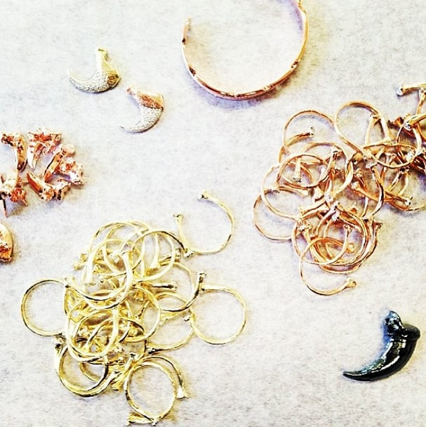 Sophia Bush fell for Elisabeth Bell's nature-inspired jewelry. Source: Instagram user sophiabush