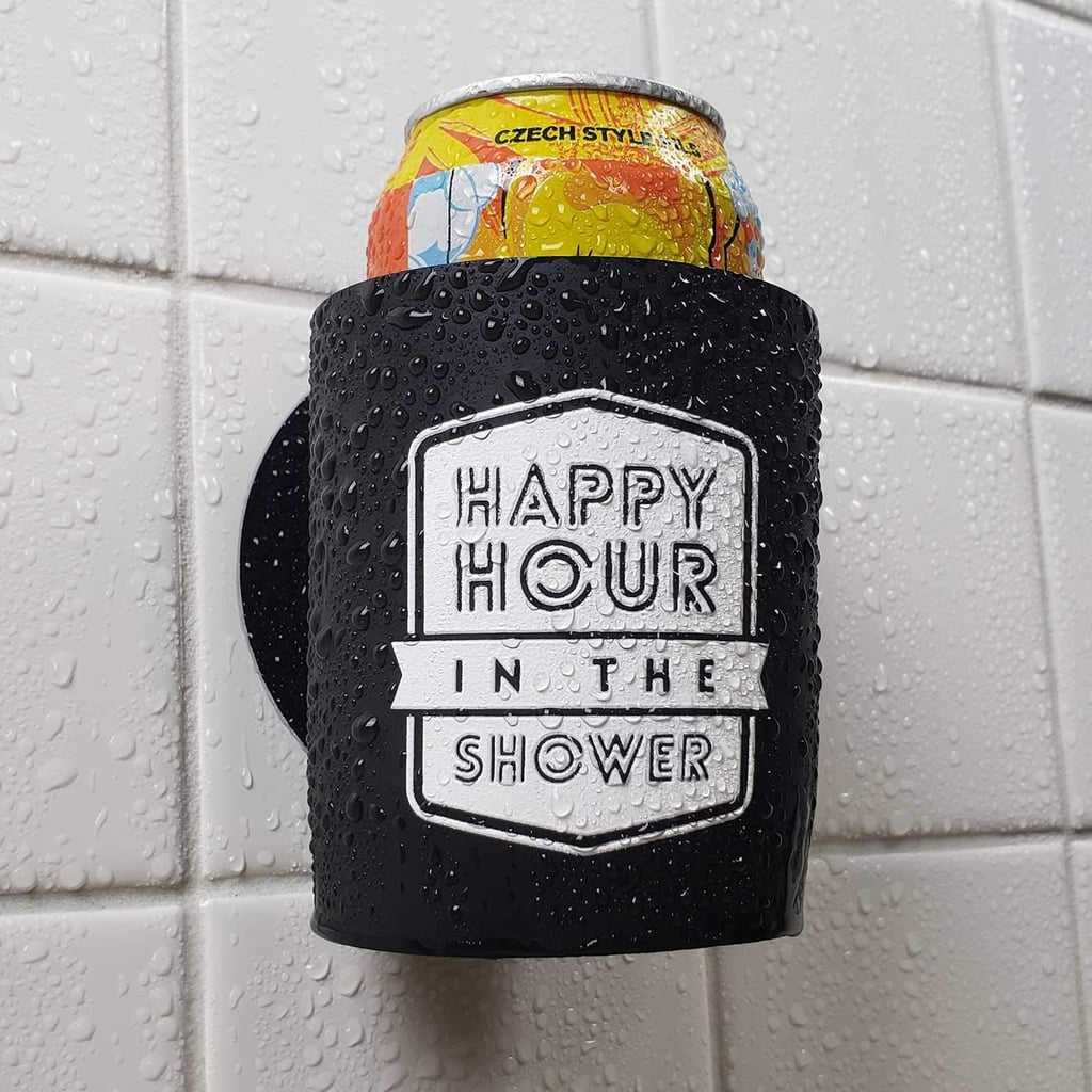 Happy Hour in the Shower Beer Holder