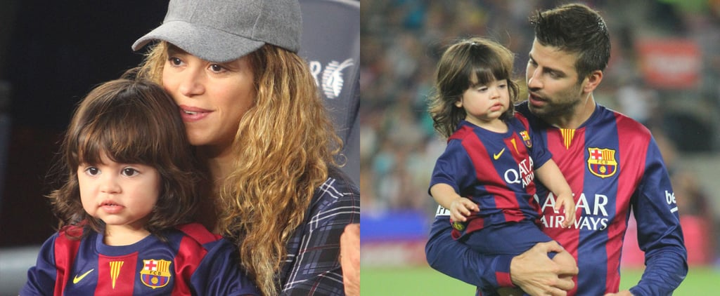 Shakira and Milan's Soccer Day Might Be Too Cute to Handle