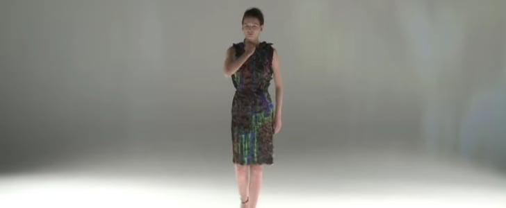 Transforming Chalayan Dress GIF