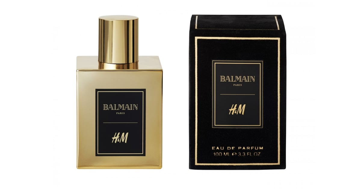 h m x balmain fragrance 72 fall beauty launches we 39 d stand in line to buy popsugar beauty. Black Bedroom Furniture Sets. Home Design Ideas