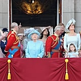 Harry and Meghan's First Trooping the Colour Together