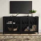 Fairmont Metal Media Stand With Storage