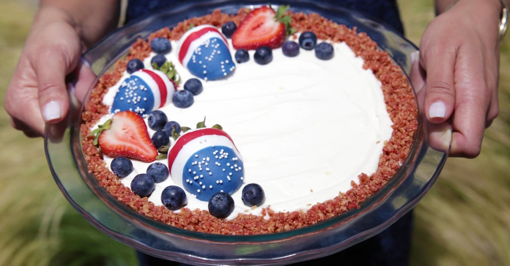 No-Bake Berry Cheesecake Pie