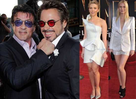 Photos from the Iron Man 2 World Premiere in Hollywood with Robert Downey Jr, Scarlett Johnansson, Gwyneth Paltrow