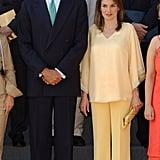 Queen Letizia's Butter Outfit, 2005