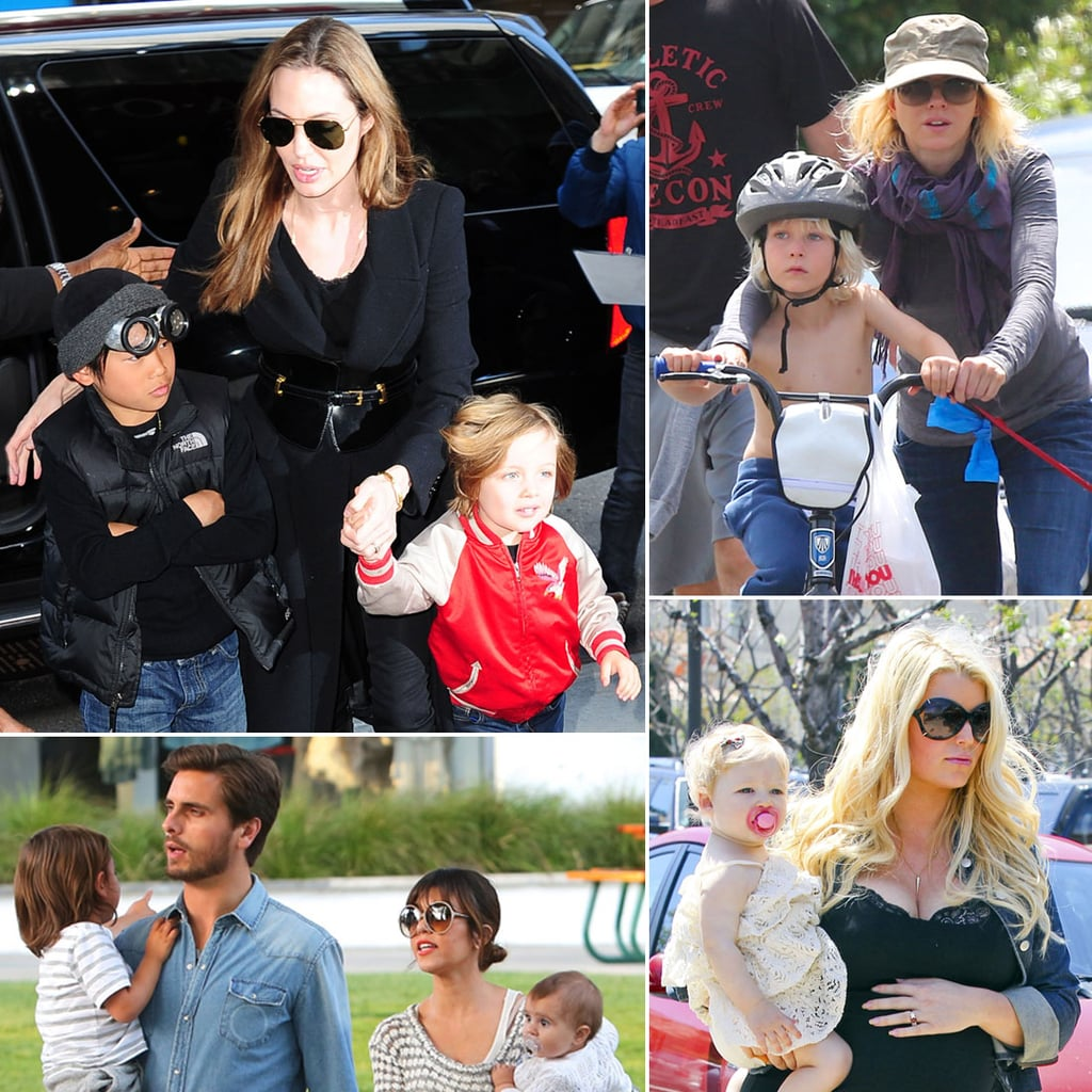 Celebrity Family Pictures Week of April 8, 2013