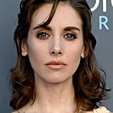 Alison Brie at the 2018 Critics' Choice Awards