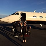 Adriana Lima traveled to Haiti on a private plane with designer Donna Karan. Source: Instagram user adrianalima