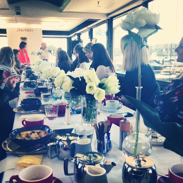 Alison played photographer at a Shiseido event, while Sally Obermeder chatted to fashion illustrator Megan Hess.