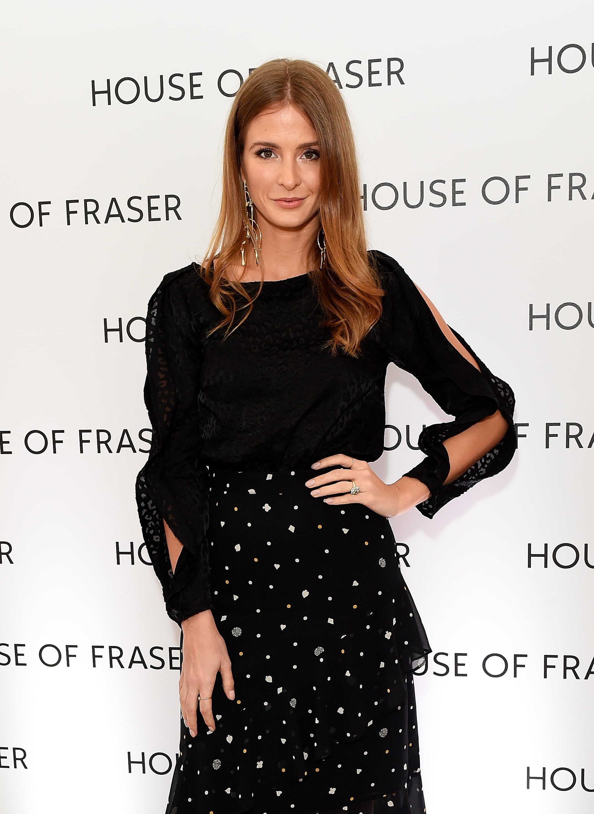 LONDON, ENGLAND - MARCH 21:  Millie Mackintosh attends the House of Fraser SS18 launch dinner at One Belgravia on March 21, 2018 in London, England.  (Photo by David M. Benett/Dave Benett/Getty Images for House of Fraser)
