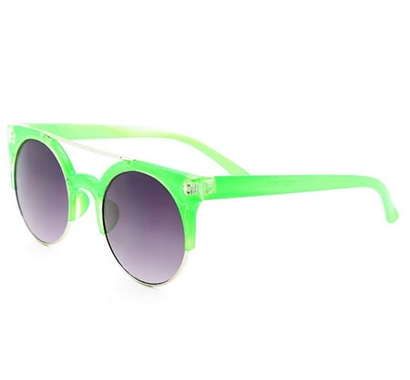 You'll be too cool for school with these lime Quay shades ($40). Bonus: you'll be sunglass sisters with the ever-cool Gwen Stefani.