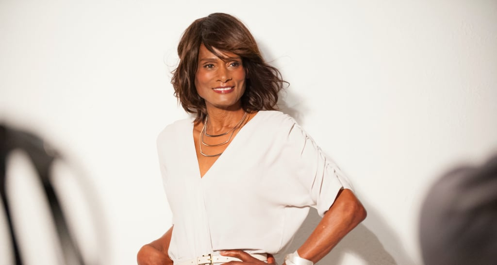 Tracey Norman Poses For Clairol