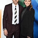 Blake Lively and Ryan Reynolds at A Simple Favour Premiere