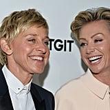 Portia on Ellen