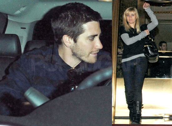 Reese Witherspoon and Jake Gyllenhaal in New York City
