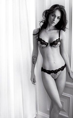 Megan Fox Armani Underwear Ad