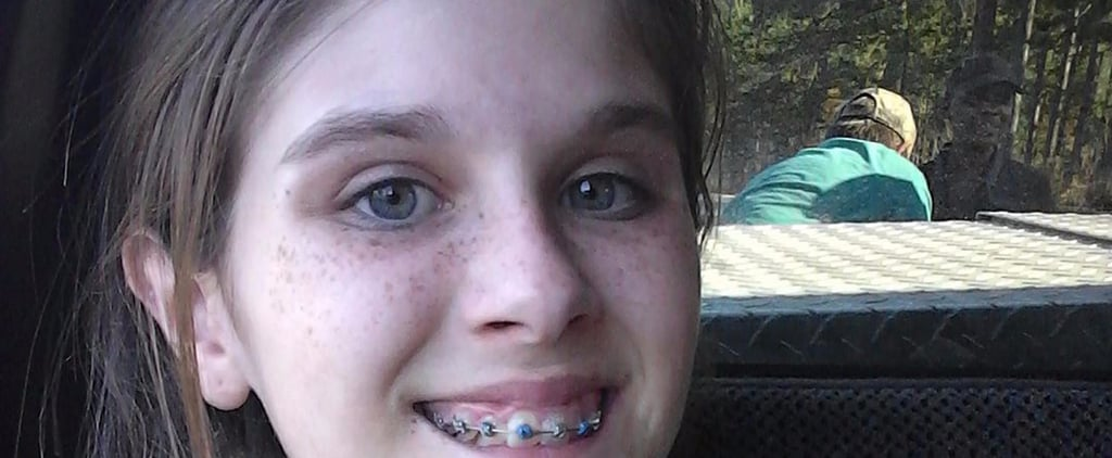 A Teen's Selfie Looks Normal Until You Take a Closer Look