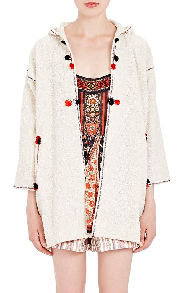 Etoile Isabel Marant Women's Rustic Boucle Boreal Jacket-White ($540)