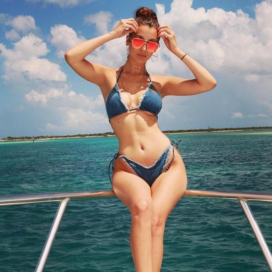 Bella Hadid Wearing a Bikini
