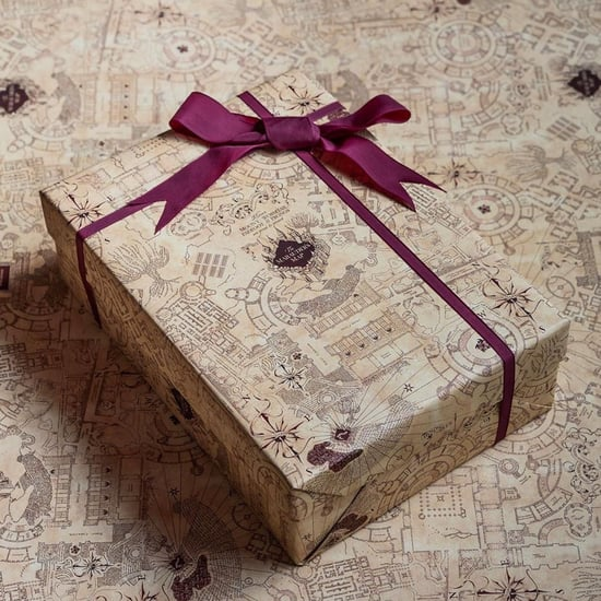 Harry Potter Christmas Wrapping Paper From Mina Lima