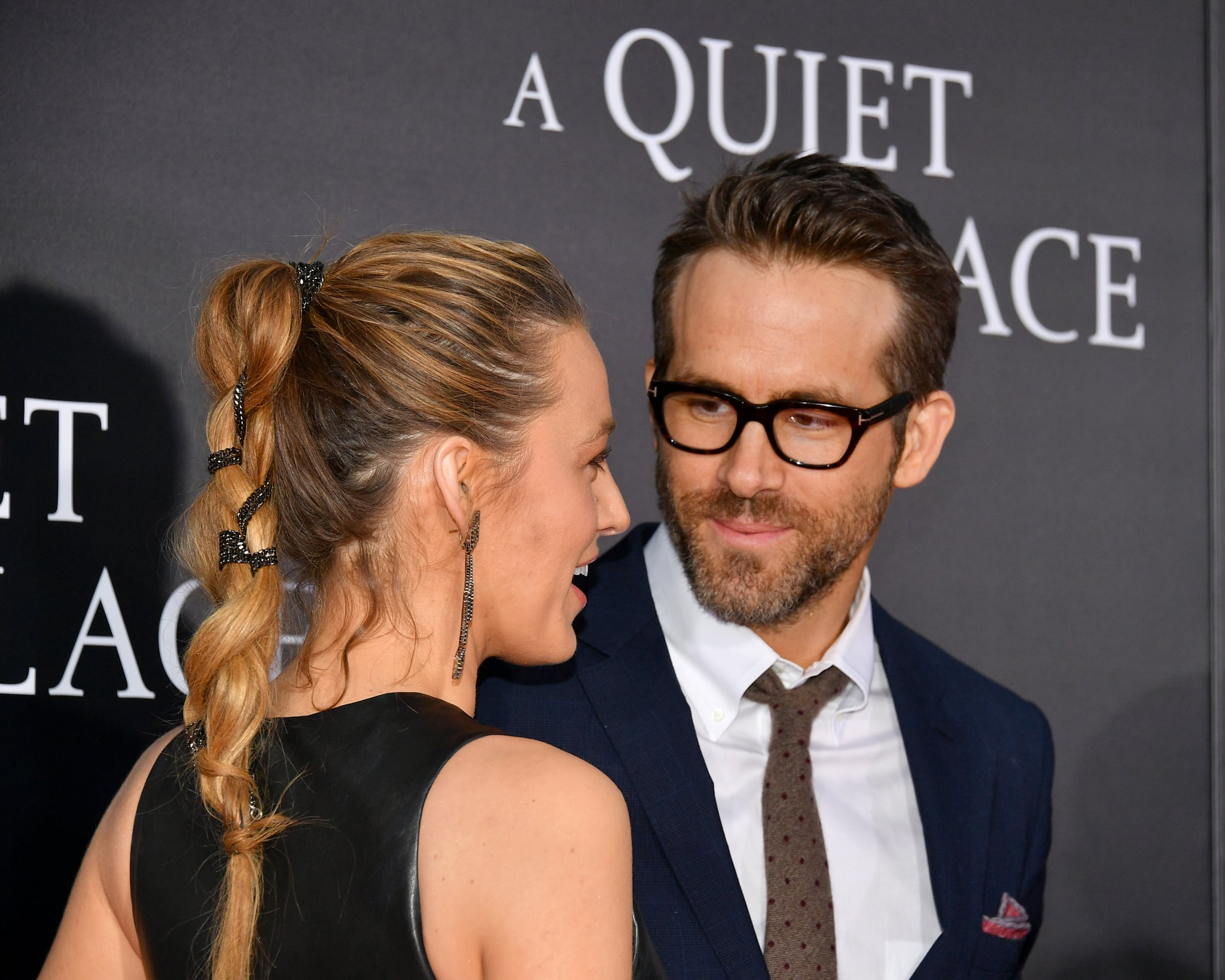 blake lively teases ryan reynolds on instagram popsugar celebrity. Black Bedroom Furniture Sets. Home Design Ideas