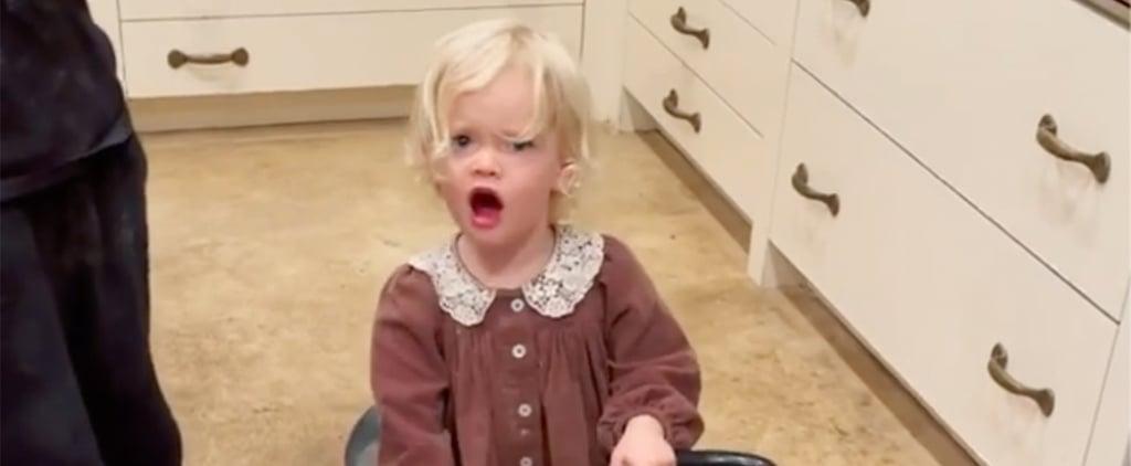 James Van Der Beek's Daughter Gwendolyn Yelling Fuck | Video