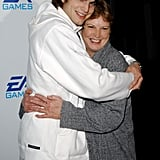 Ashton Kutcher and Diane Kutcher