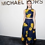 Allison Williams at NYFW