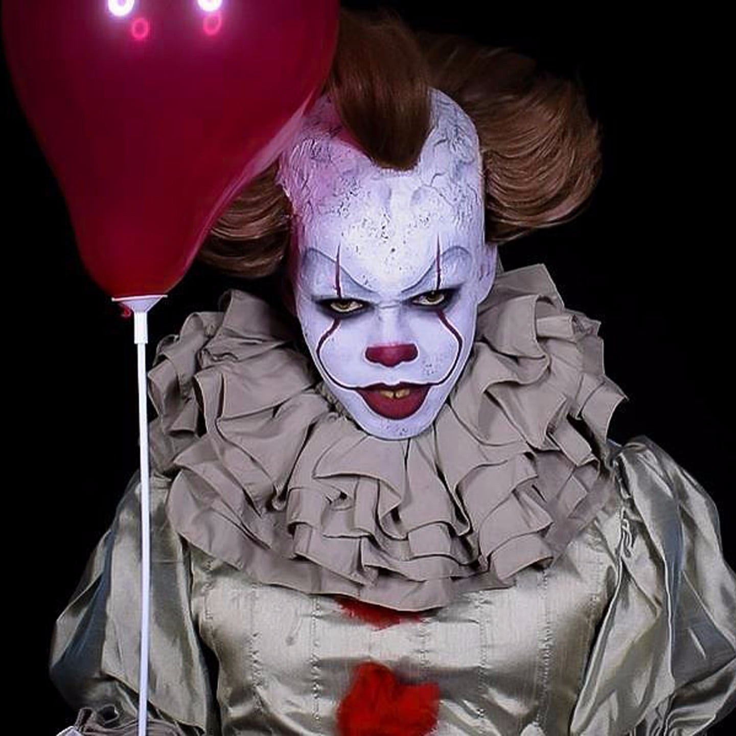 It pennywise the clown makeup tutorials popsugar beauty baditri Image collections