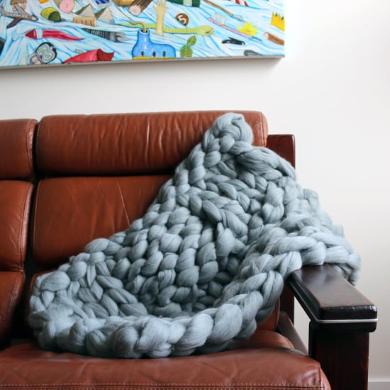How to Knit a Wool Blanket
