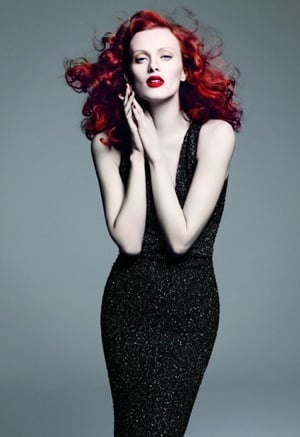 Photos of 2010 Spring St. John Ad Campaign Featuring Karen Elson