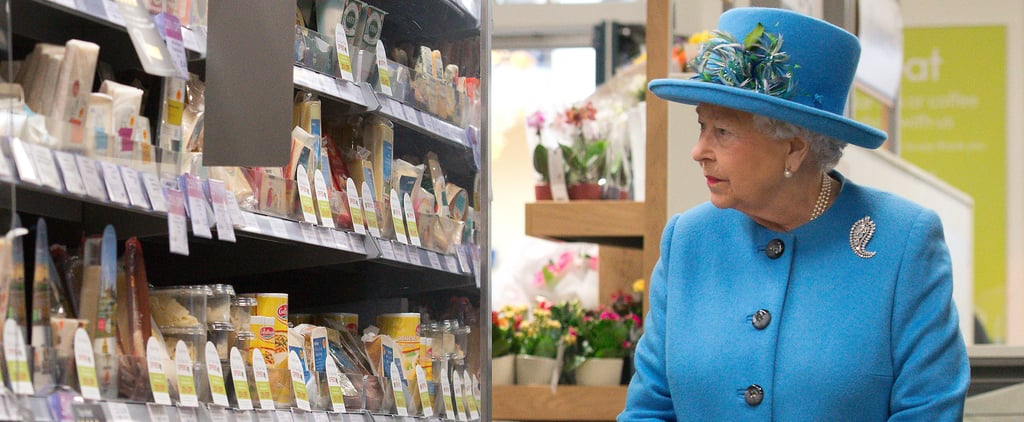 Queen Elizabeth Stops Off at Waitrose and the Pub During a Totally Normal Royal Visit
