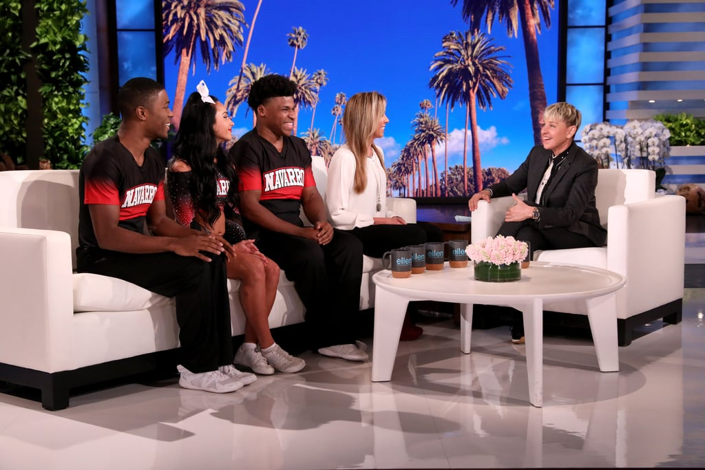 Watch Cheer's Navarro Team on The Ellen DeGeneres Show