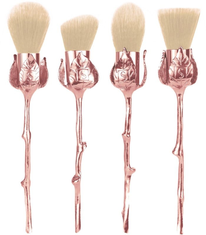 Storybook Cosmetics Rose Makeup Brushes
