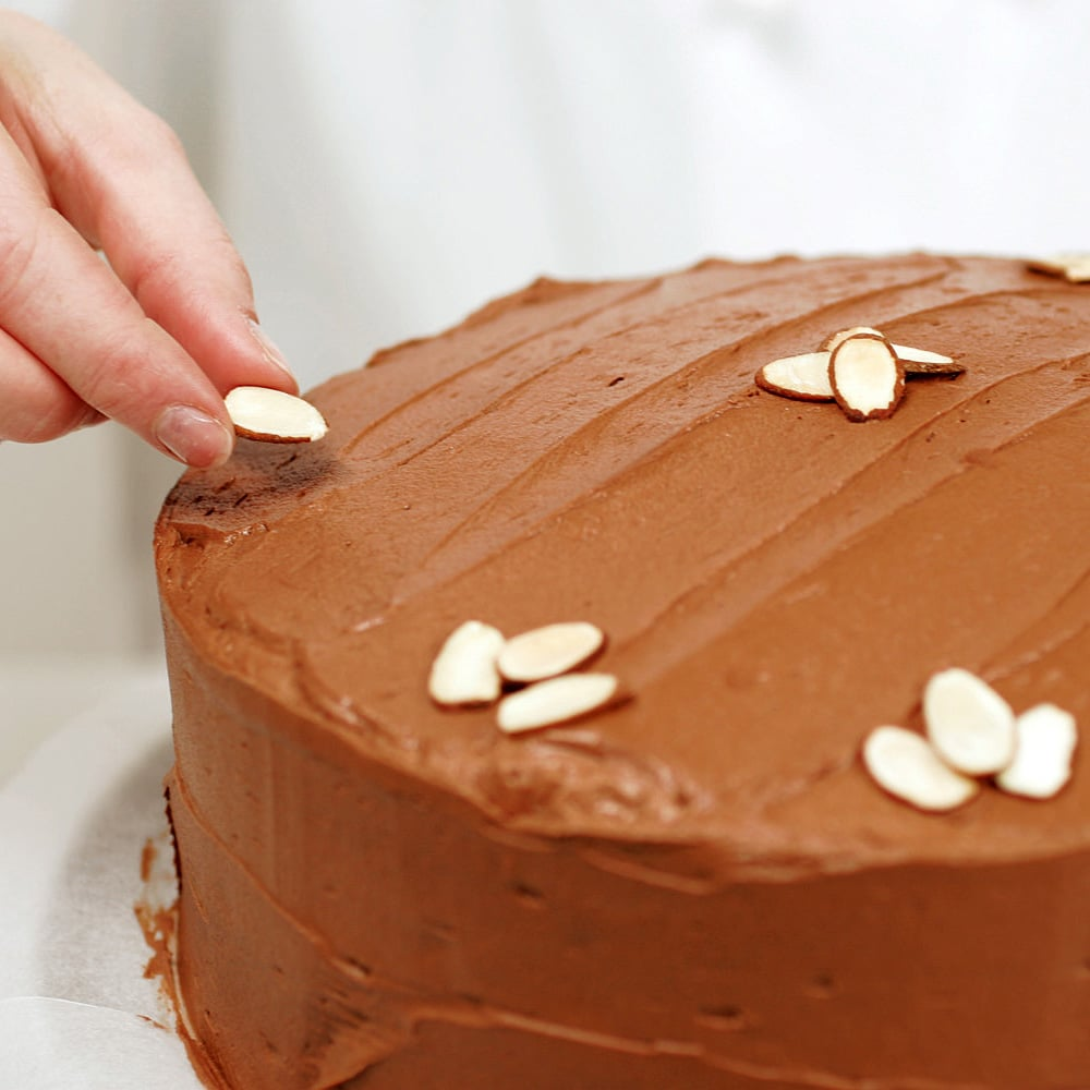 Simple Cake Decorating Ideas At Home Cherry Nut Cake Recipe Taste Of Home