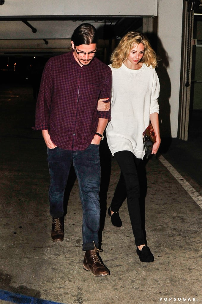 Saturday was date night for Josh Hartnett and his girlfriend, Tamsin Egerton. The duo headed to the ArcLight theater in Hollywood and showed a little PDA on the way back to their car. Josh and Tamsin, an English actress and model, started dating last Spring after meeting while filming 2012's Singularity. They've kept a low profile as a duo ever since but have been spotted out solo. Earlier this month, Josh stepped out without Tamsin at the SXSW festival, where he was promoting his new Showtime series, Penny Dreadful. The psychological thriller premieres in May and will be Josh's first time back on the small screen since his role on Cracker: Mind Over Murder in the late '90s. Tamsin, meanwhile, made a solo appearance at the Giorgio Armani show during Paris Fashion Week in January.