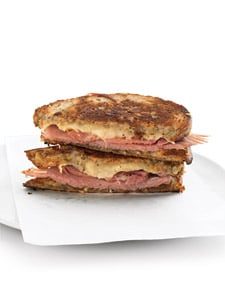 Grilled Ham-and-Cheese Sandwich Recipe