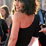 Pregnant Evangeline Lilly at Ant-Man Premiere | Photos
