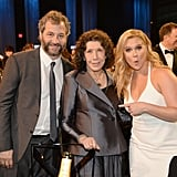 Pictured: Judd Apatow, Lily Tomlin, and Amy Schumer