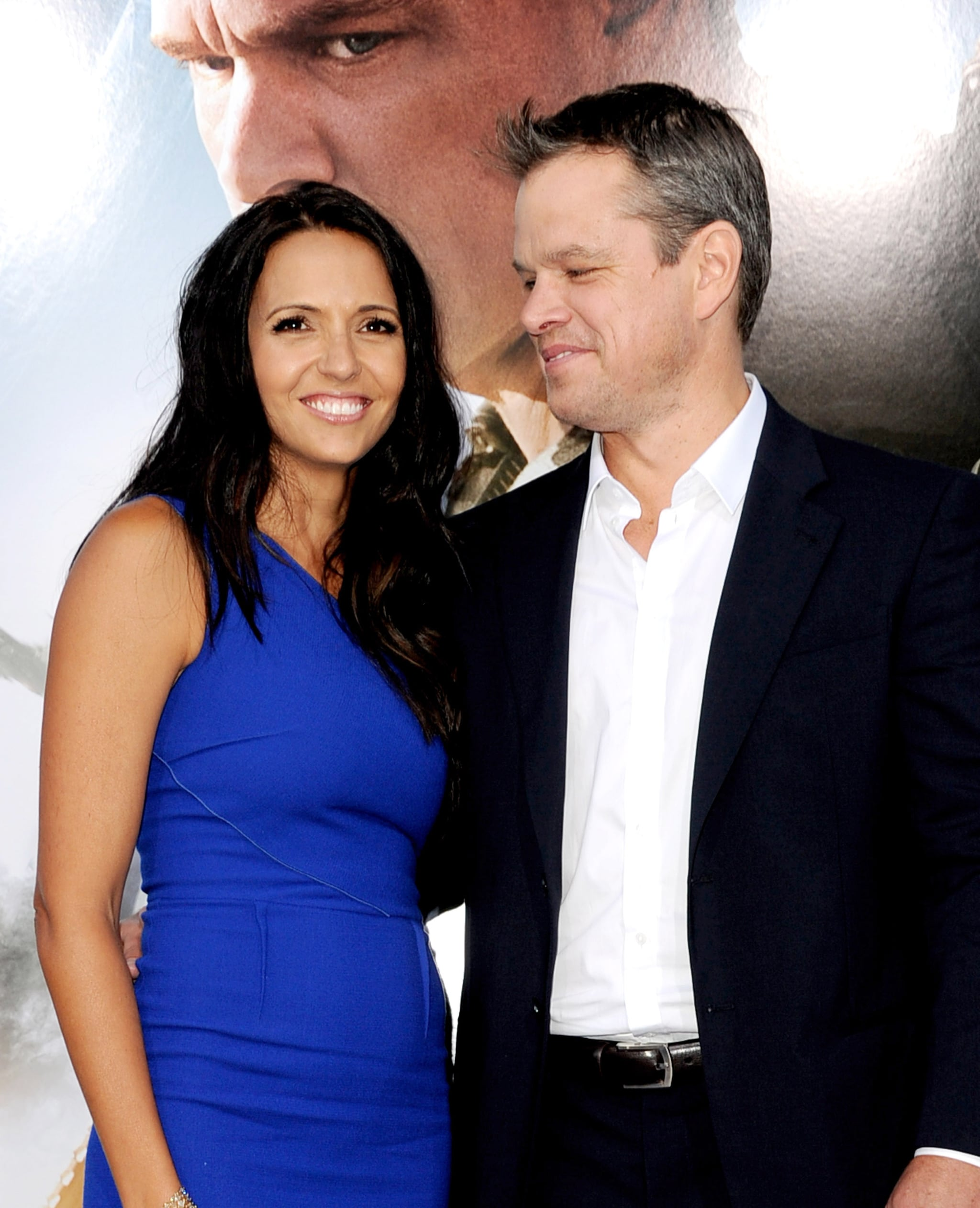 Matt Damon and Luciana Barroso Are Hollywood's Best Couple - Vogue