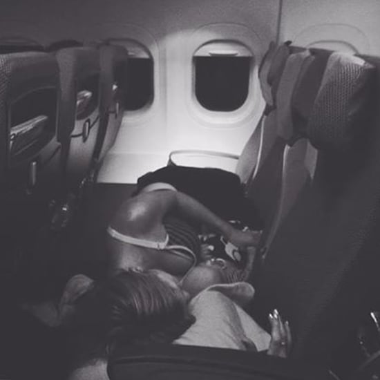 Stranger Takes Candid Photo of Mom and Baby Asleep on Plane