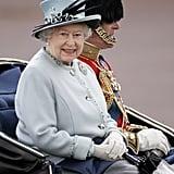 Pictured: Queen Elizabeth, Prince Philip.